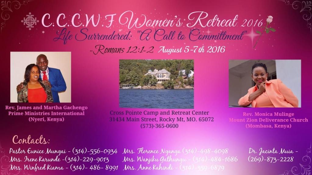 Christ Covenant Church Women Retreat 2016