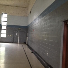 Part of Inside Gymnasium